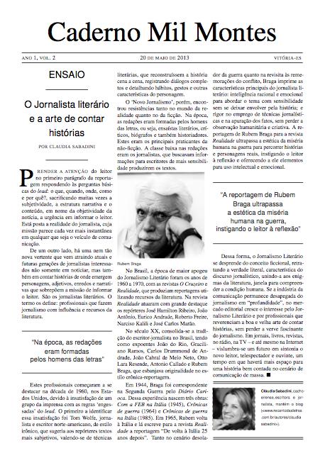 Caderno Mil Montes Vol. 2